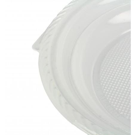 Assiette Plastique Plate 205mm (100 Unités)