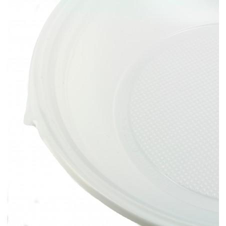 Assiette Plastique Creuse 220mm (100 Unités)