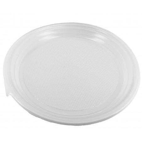 Assiette Plastique Plate 220mm (100 Unités)
