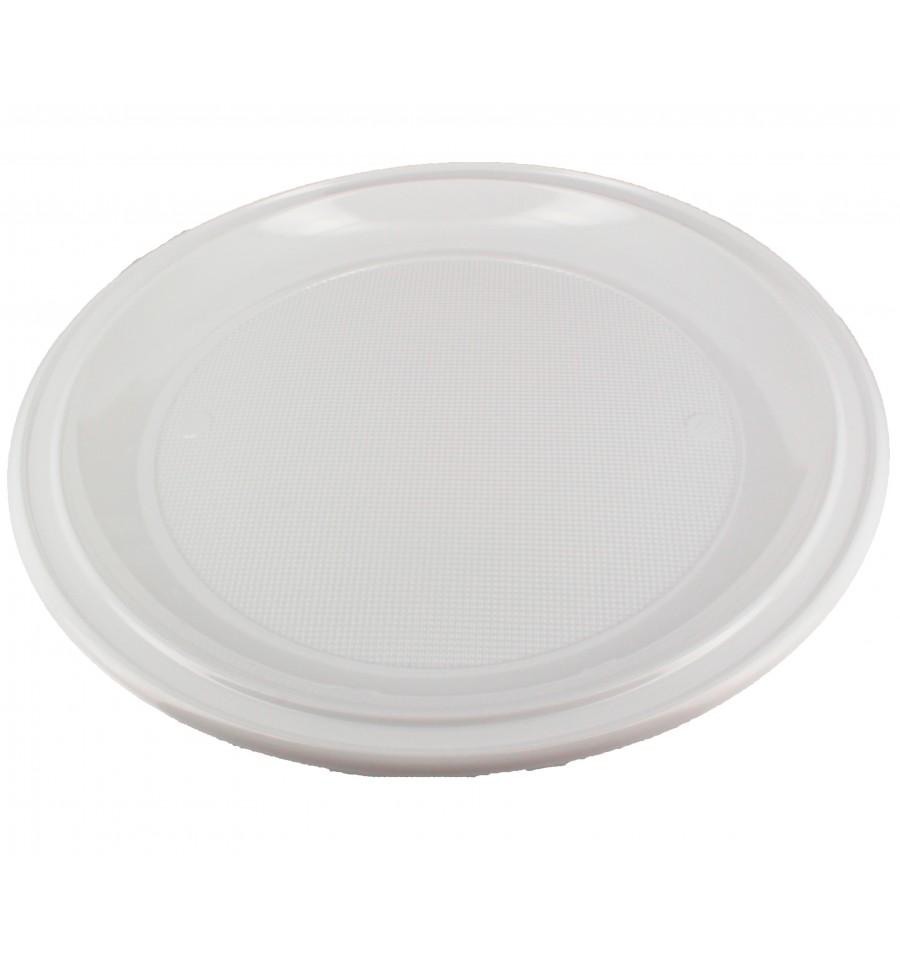 assiette plastique pizza blanche 280mm 100 unit s. Black Bedroom Furniture Sets. Home Design Ideas