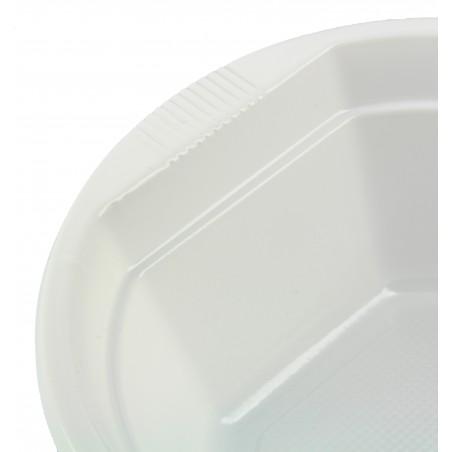 Bol Plastique Blanc 250ml (100 unités)