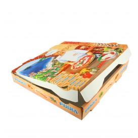 Boîtes à Pizza 40x40x4 Végétal (Paquet 100Utés)