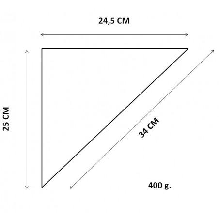 Cornet à frites 24,5x25x34cm (200 Unités)