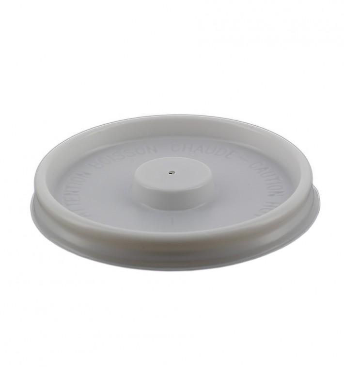 Couvercle Gobelet  Carton 4oz/120ml Ø6,2cm (100 Unités)