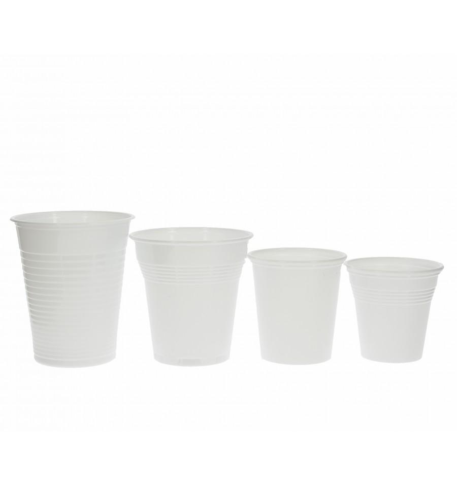 gobelet plastique blanc pp 100ml 4800 unit s. Black Bedroom Furniture Sets. Home Design Ideas