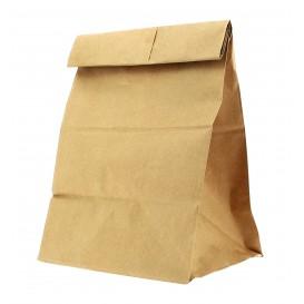 Sac en papier KRAFT sans anses 21+14x40cm (500 Unités)