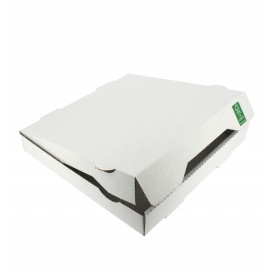 Boîte Carton Blanc 33x33x3,5 cm (100 Utés)