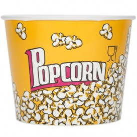 Etuis à Pop-Corn 5400ml 22.5x16x21cm (50 Unités)