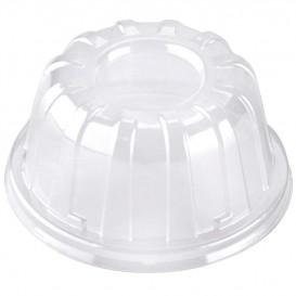 Couvercle Haut Plastique Transparent 11x6cm (100 Utés)