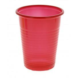 Vaso de Plastico 200cc Color rojo (Caja 960 Uds)