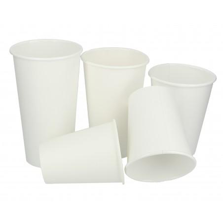 Gobelet Carton 10oz/300ml Blanc Ø8,4cm (50 Unités)