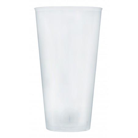 Verre Plastique 470ml PP Transparent (20 Unités)