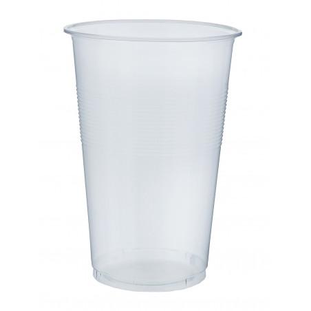 Gobelet Plastique Transparent PP 450 ml (80 Unités)