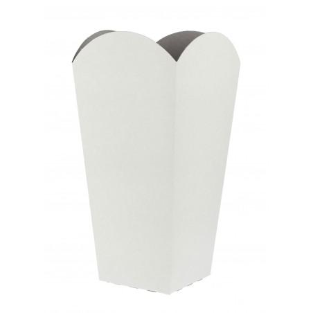 Caja para Palomitas Pequeña Blanca 45 gr 6,5x8,5x15cm (50 Uds)