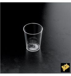 """Gobelet liqueur """"Conical"""" Plastique Transparent 50 ml (25 Utés)"""