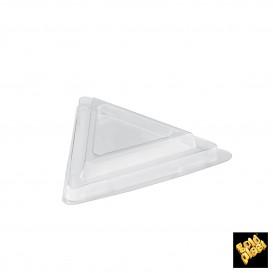 Couvercle Verrine Triangle Transp. PET 70 ml (25 Utés)