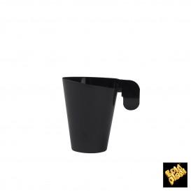 Tasse Plastique Design Noir 72ml (240 Unités)