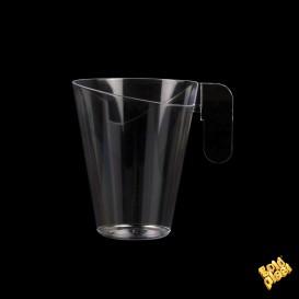Tasse Plastique Design Transparent 155ml (144 Unités)