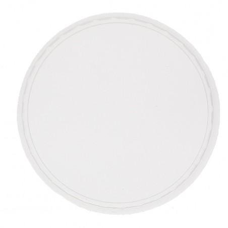 Tapa Transparente para Tarrina 250 ml (Paquete 50 unidades)