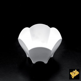 Verrine Dégustation Tulipe Blanc 70 ml (500 Utés)