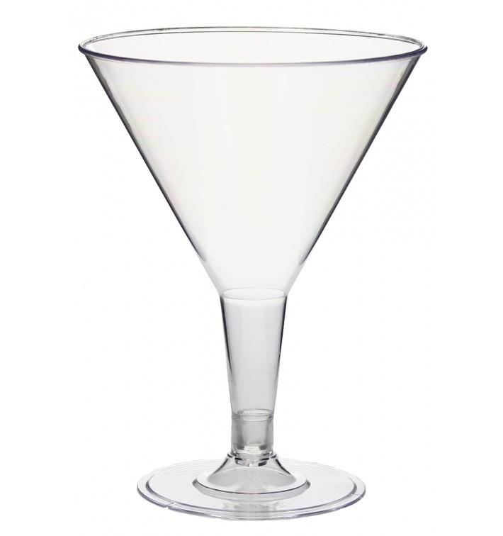 Coupe Cocktail Transparent PS 215 ml 2P (3 Unités)