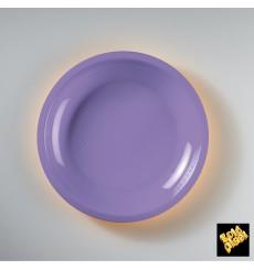 Assiette Plastique Plate Blanc Ø220mm (300 Utés)