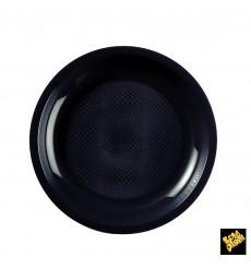 Assiette Plastique Plate Or Ø220mm (50 Utés)