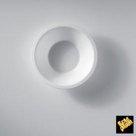 Bol en Plastique Blanc Ø155mm 450ml (50 Utés)