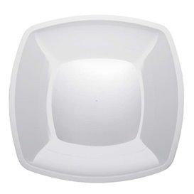 Assiette Plastique Plate Blanc PS 300mm (150 Utés)