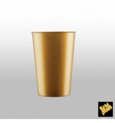 Verre Plastique Violet Pearl PS 200ml (500 Unités)