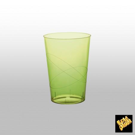 Verre Plastique Vert Lime Transp. PS 200ml (500 Unités)