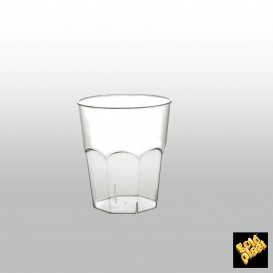 Verre Plastique à Cocktail Transp. PS  Ø73mm 200ml (50 Utés)
