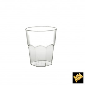 Verre Plastique à Cocktail Transp. PS Ø73mm 220ml (50 Utés)