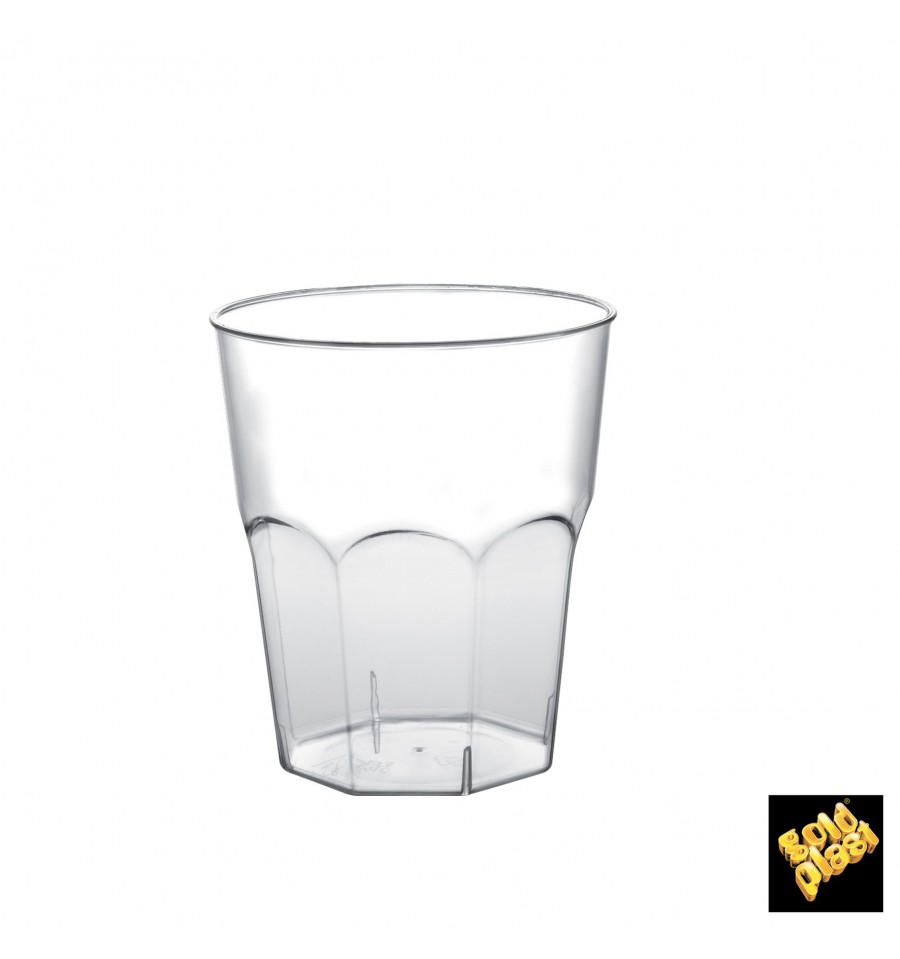 Verre plastique cocktail transp pp 84mm 270ml 20 ut s - Verre a cocktail plastique ...