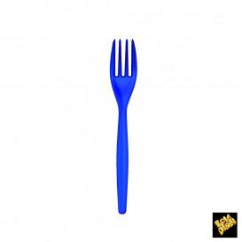 Fourchette Plastique Easy PS Bleu Perle 180mm (240 Unités)