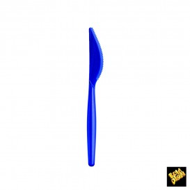 couteau Plastique Easy PS Bleu Perle 185mm (20 Unités)
