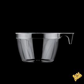 Tasse Plastique Cup Transparent 190ml (25 Unités)