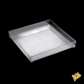 Plat Tray Transparent 30x30cm (9 Utés)