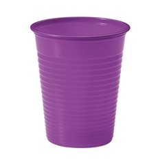 Gobelet Plastique Violette PS 200ml (100 Unités)