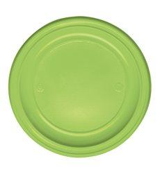 Assiette Plastique Plate Orange PS 220mm (780 Unités)