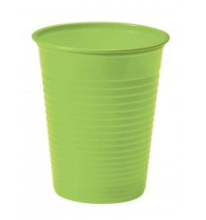 Gobelet Plastique Vert PS 200ml (50 Unités)