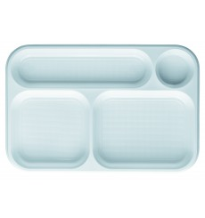Barquette Plastique Blanc 4C 360x240mm (300 Utés)
