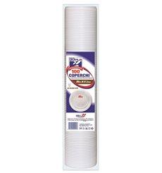 Gobelet Plastique Blanc PS 80ml (1500 Unités)