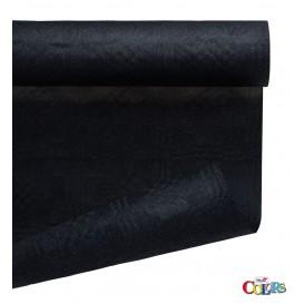 Nappe en Papier en Rouleau Noir 1,2x7m (1 Uté)