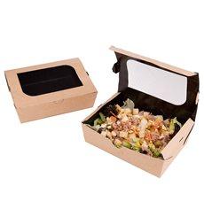 Boîte en Carton Kraft avec Fenêtre 180x117x55mm (25 Utés)