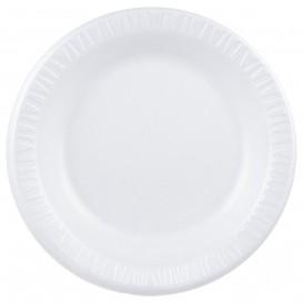 """Assiette Thermique FOAM """"Quiet Classic"""" Stratifié Blanc Ø260mm (500 Unités)"""