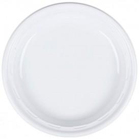 """Assiette en Plastique PS """"Famous Impact"""" Blanc Ø230mm (125 unités)"""