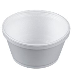 Pot en Foam Blanc 8OZ/240ml Ø108mm (1000 Unités)