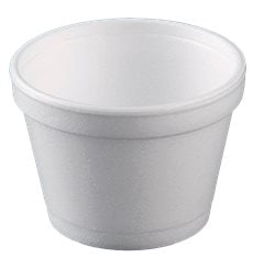 Pot en Foam Blanc 8OZ/355ml Ø108mm (500 Unités)