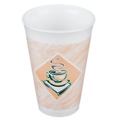 """Gobelet isotherme FOAM """"Café"""" 16Oz/473 ml (25 Unités)"""